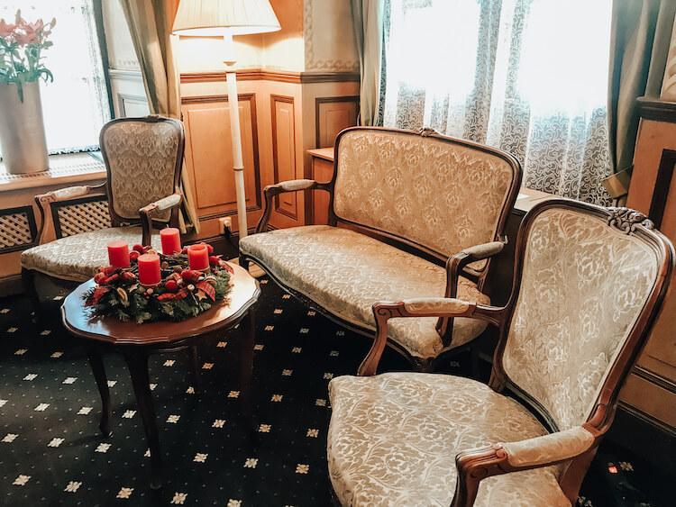 Lobby at Hotel Pod Vezi