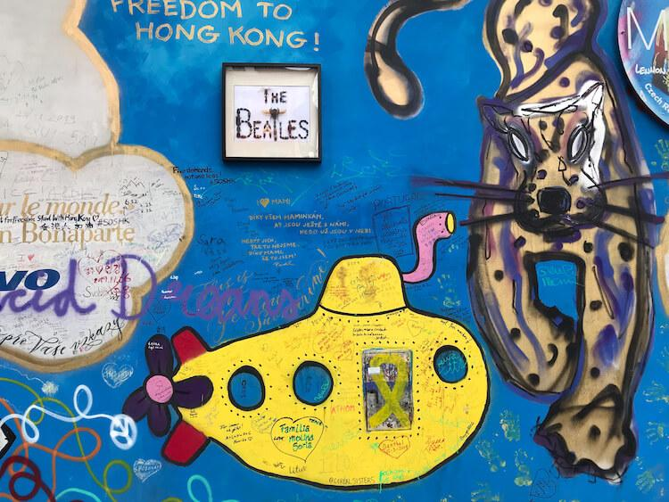 Murals on the Lennon Wall - Best Places to Visit in Prague in 2 Days