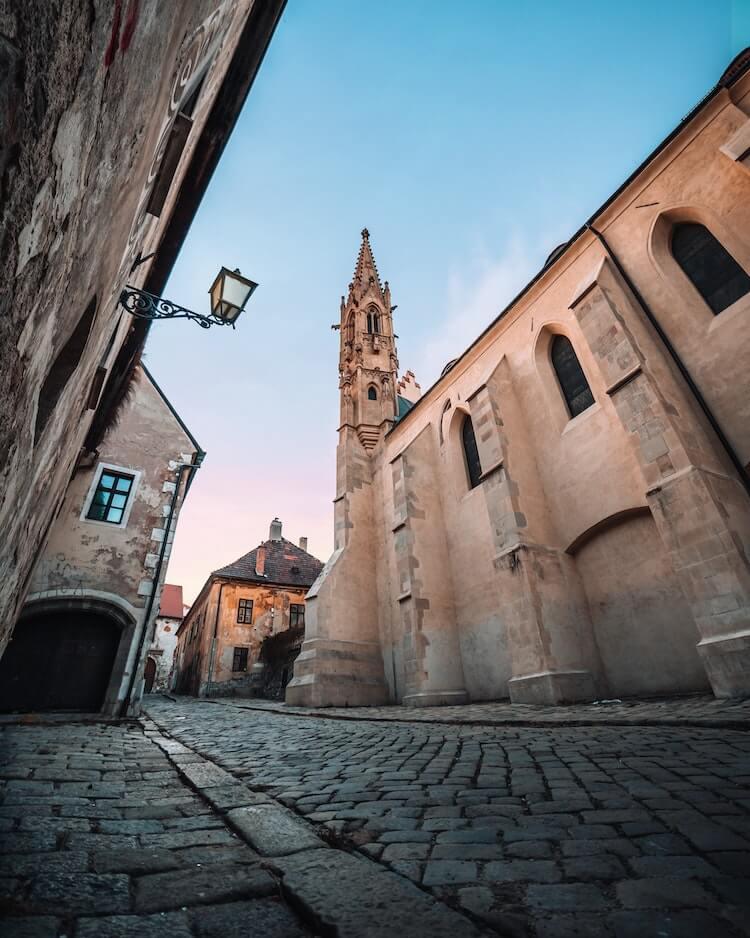 Streets of the Old City Bratislava