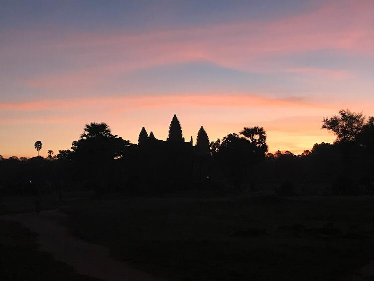 Sunrise Over Angkor Wat- Bucket List Trip For Couples