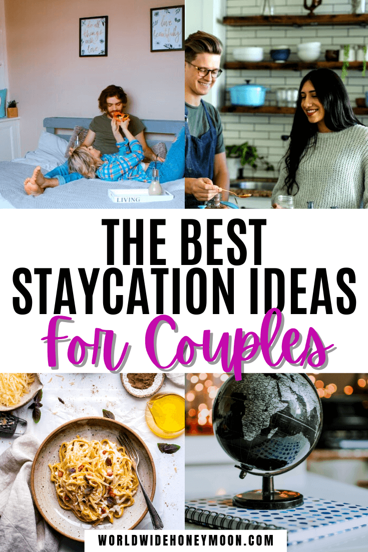 These are the best romantic weekend staycation ideas | Staycation Ideas | Staycation Ideas for Couples | Staycations | Travel While at Home | Can't Wait to Travel | Staycation Ideas for Couples at Home | Can't Afford to Travel | Can't Travel | Date Night Ideas | Date Night Dinner Recipes | Date Night Ideas at Home | Date Night Themes Couples | Travel at Home Date