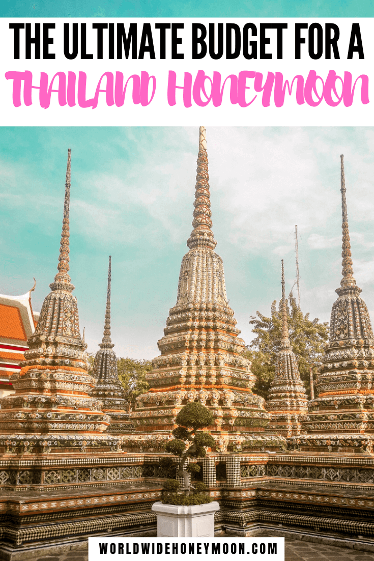 Thailand Honeymoon Budget | Honeymoon in Thailand Budget | Thailand Budget | Thailand Food Budget | Thailand on a Budget | Budget for Thailand | Couple Travel Budget #couplestravel #thailandhoneymoon #budgettravel #thailand