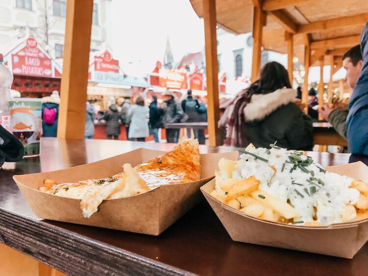 podpickiky at the Christmas Market in Bratislava in one day