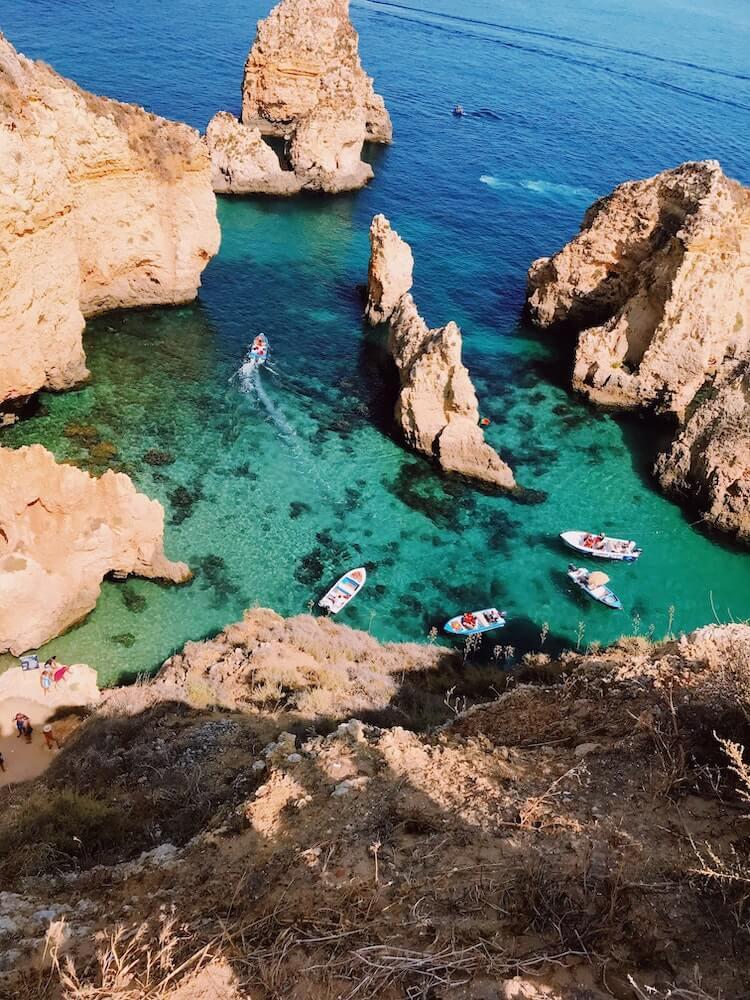 Beach Honeymoon in Europe- The Algarve