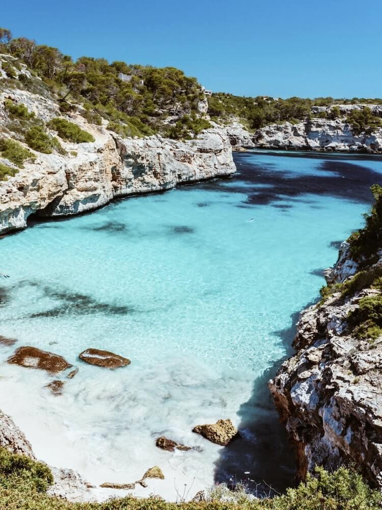 Beaches in Mallorca, Spain