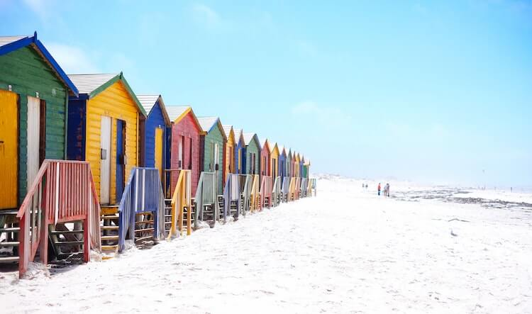 Beaches outside of Cape Town