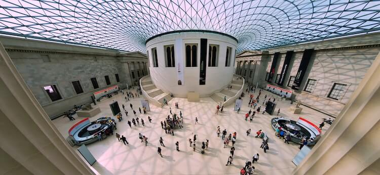 British Museum Panorama- Best Virtual Tours Online