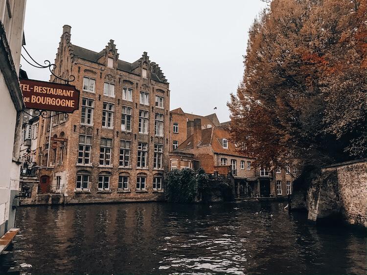 Bruges, Belgium- Top Honeymoon Destinations in Europe