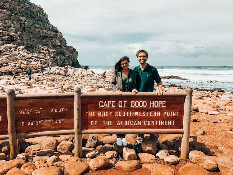 Cape of Good Hope Sign and Day Trip From Cape Town