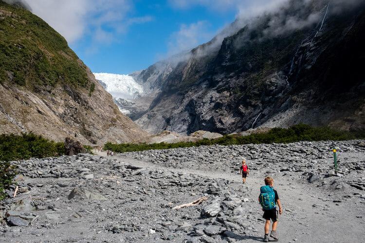Franz Josef Glacier-Backyard Travel Family
