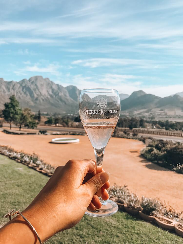 Haute Cabriere in Franschoek, South Africa