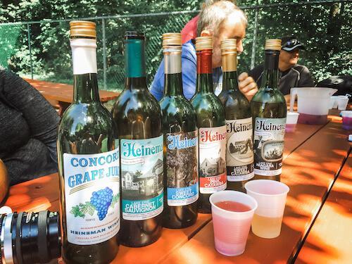 Heineman's Winery on Put-in-Bay