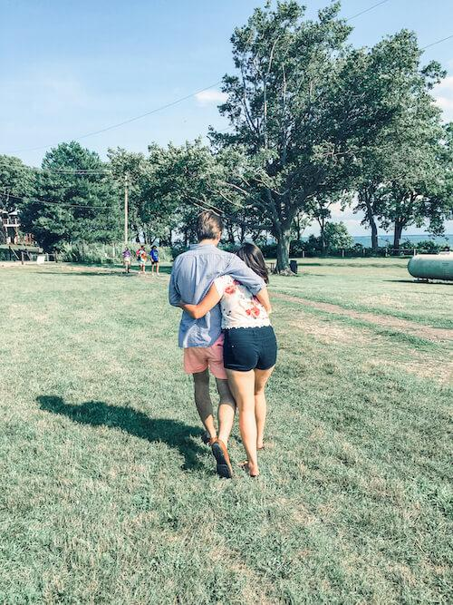 Kat and Chris in Put-in-Bay- Things to do in Put-in-Bay
