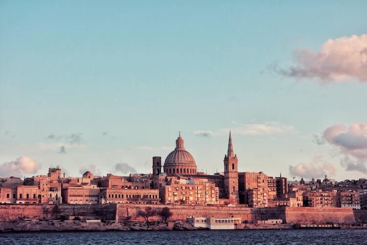 Valletta, Malta- Best Places to Visit in Europe for Honeymoon