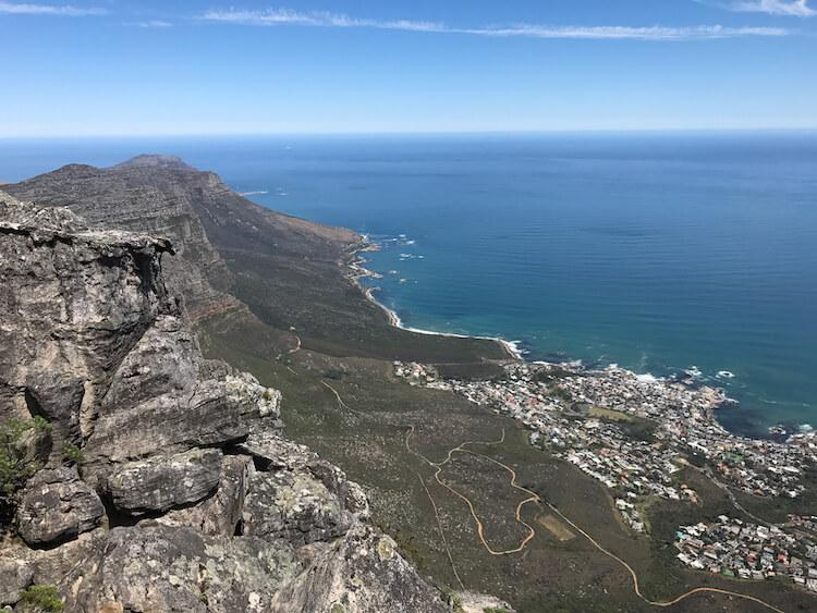 Views of the Cape from Table Mountain