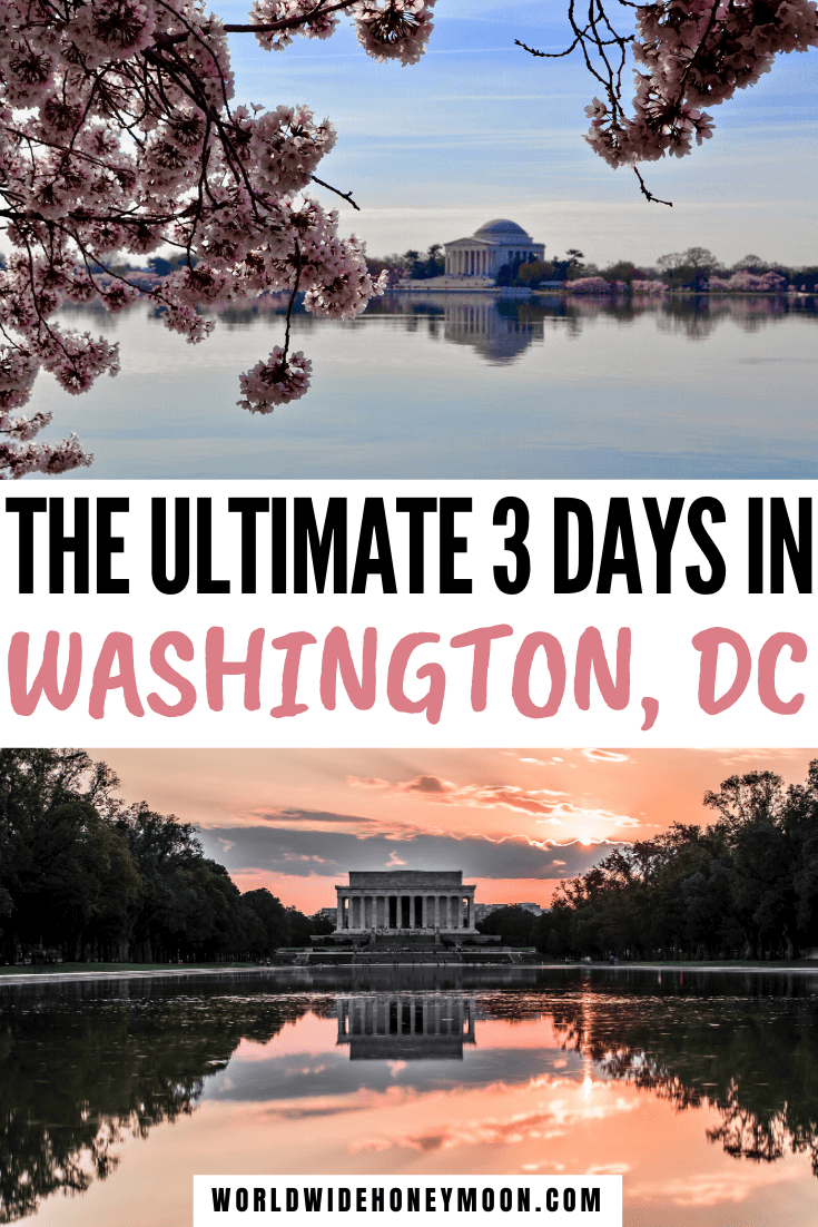 3 Days in DC | 3 Days in Washington DC Itinerary | 3 Days in Washington DC Travel Guide | Washington DC Things to do in 3 Days | Things to do in Washington DC | Washington DC Itinerary | Washington DC Itinerary First Time | Washington DC 3 Day Itinerary | Washington DC Travel Guide | Washington DC Travel Tips | Washington DC Travel Outfit | Washington DC First Time | First Time in DC | First Time in Washington DC | #washingtondc #dctravel #usatravel #couplestravel