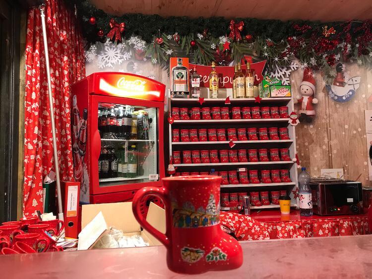 Christmas market mugs- Vienna in December