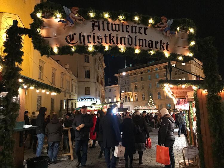 Freyung Altwiener Christkindlemarkt in Vienna