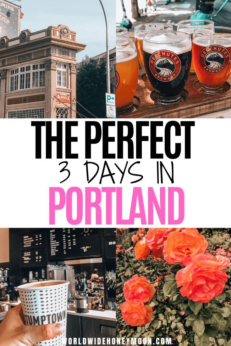 Things to do in Portland Oregon | Portland Oregon Itinerary | 3 Days in Portland Oregon | Portland 3 Days | Weekend in Portland | Portland Oregon Food | Portland Hotels | Portland Day Trips | Travel to Portland, Oregon #portlandoregon #portlandtravel #pacificnorthwest #usatravel #couplestravel