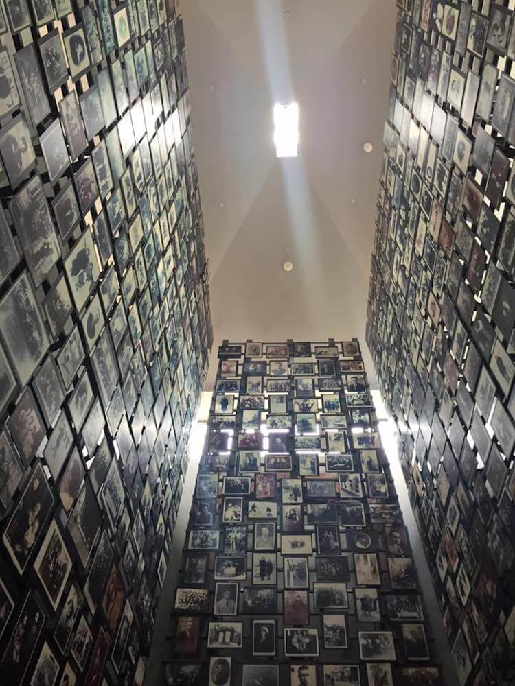 Photos at the Holocaust Memorial Museum in DC
