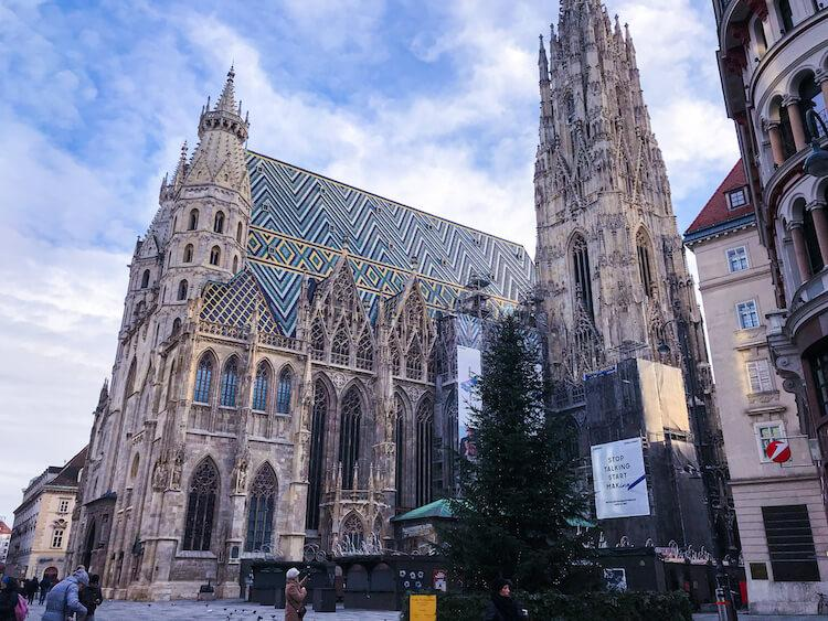 St. Stephen's Cathedral in Central Vienna