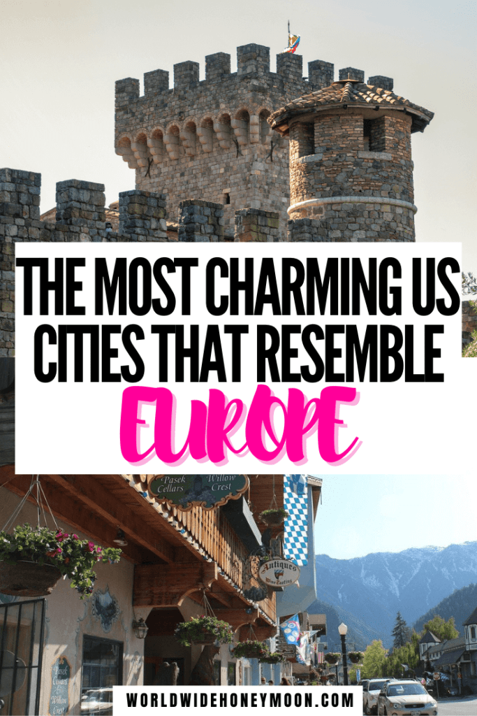 These are the most European cities in the US | European Cities in the USA | US Cities That Look Like Europe | European Cities in North America | Prettiest Cities in the US | Prettiest US Cities | Most European Cities in America | Cities in the US to Visit | US Cities to Visit | USA vs Europe | Outdoor Destinations | US Destinations | North America Travel