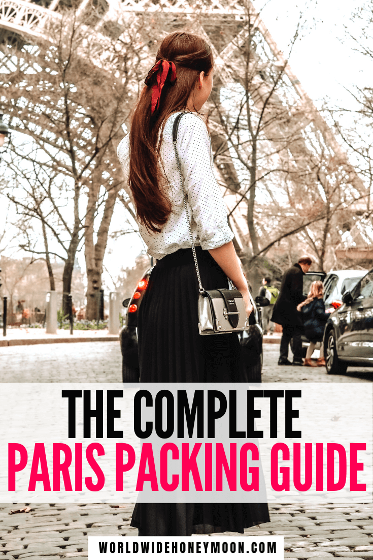 The ultimate guide on what to wear in Paris (plus what NOT to wear)!   Things You Need to Pack for Paris   Clothing options for Paris   What to Bring to Paris   Paris Packing List   Travel Guide to Paris   What to Wear in Paris in Spring   What to Wear in Paris in Summer   What to Wear in Paris in Fall   What to Wear in Paris in Winter   What to Wear in Paris Summer Outfits   Paris Outfit Ideas   Paris Fashion   Paris Packing List Summer   Packing for Paris   France Travel   Europe Destinations