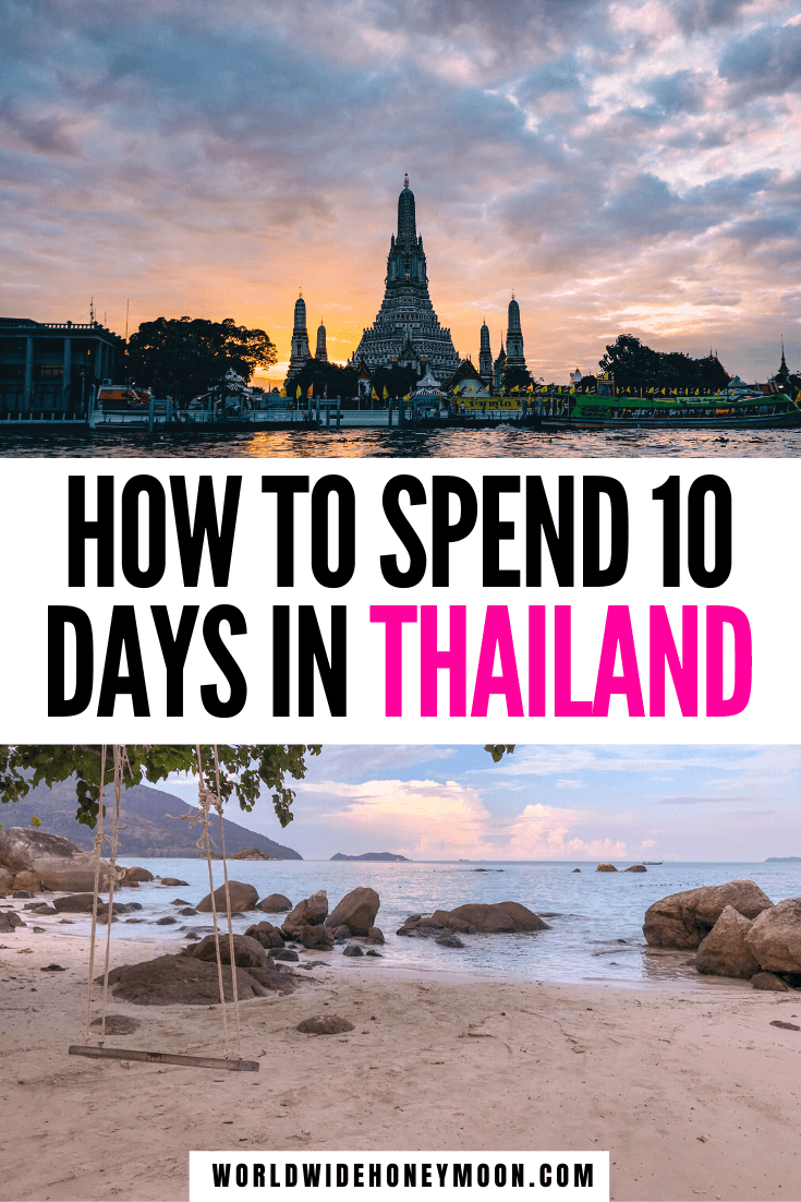 This is the best 10 Day Thailand Itinerary | Thailand in 10 Days | Thailand Trip | Thailand 10 Day Itinerary | Things to do in Thailand | Places to Visit in Thailand | Best Thailand Islands | Best Beaches in Thailand | 10 Days in Thailand Itinerary | 10 Days in Thailand Packing List | Thailand Travel Tips | Thailand Travel Destinations | Thailand Honeymoon Itinerary #thailanditinerary10days #thailandhoneymoon #10daysinthailand #thailanditinerary