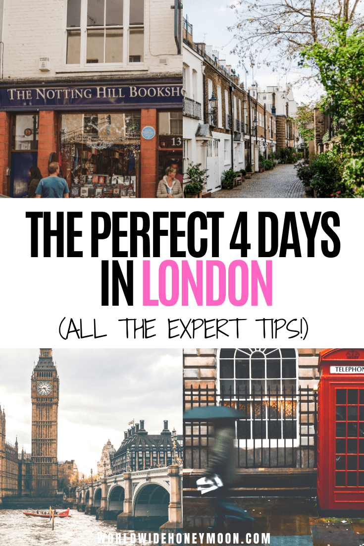 This is the ultimate 4 days in London itinerary | London Travel | London Itinerary | London Travel Photos | London Travel Places | Things to do in London England | 4 Days in London Packing | London Itinerary First Time | London Travel Guide | London Travel Tips | #4daysinlondon #londontravel #londonengland #uktravel