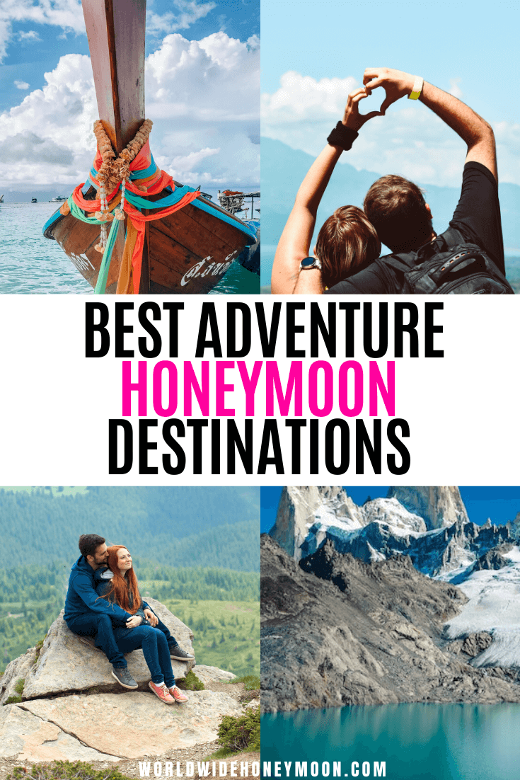 These are the best adventure honeymoon destinations | Best Honeymoon Destinations for Adventure | Adventure Honeymoon Ideas | Best Adventure Honeymoon | Honeymoon Destination Ideas | Honeymoon Adventure Ideas | Honeymoon Adventure Destinations | Where to Honeymoon | Honeymoon Travel #adventurehoneymoondestinations #adventurehoneymoon #honeymoonideas #honeymoontravel