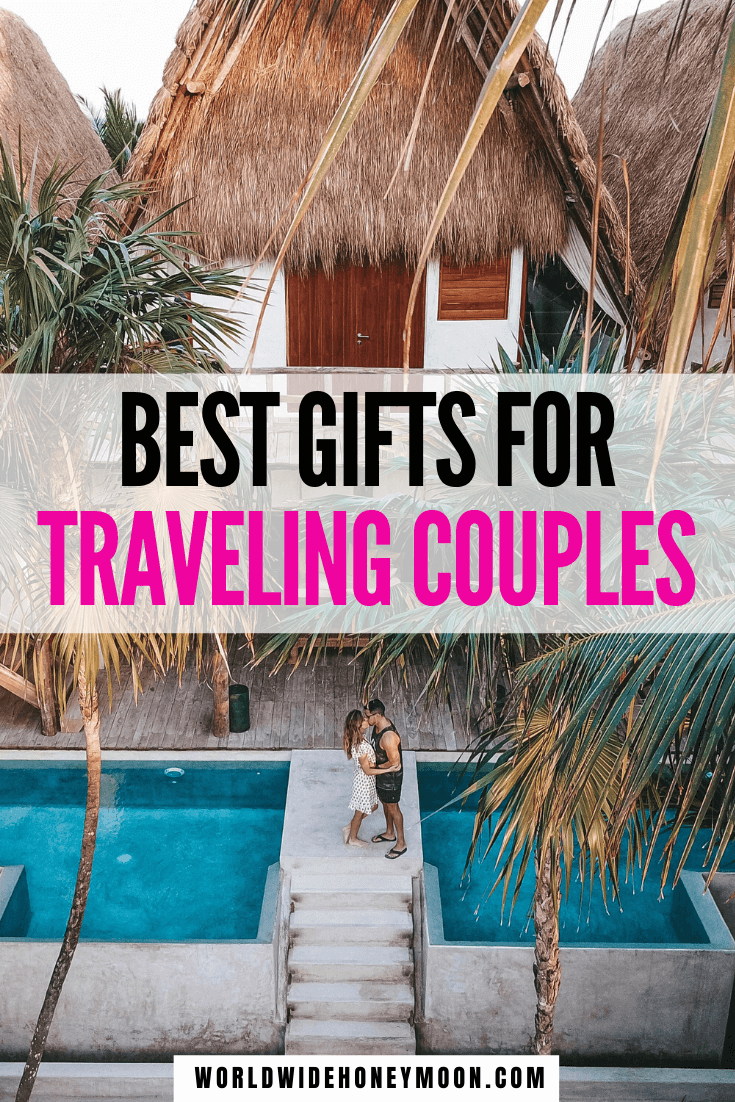 These are the ultimate couples travel gifts | Travel Gifts For Couples | Gifts for Couples Who Travel | Gifts for Couples Who Like to Travel | Wedding Gifts for Couples Who Travel | Engagement Gifts for Couples Travel | Gifts for Travel Couple | Couples Travel Gifts | Gift Ideas for Her | Gift Ideas for Him | Gifts for Travelers | Gifts for Travel Lovers | Gifts for Traveling | Travel Gift Ideas #travelgifts #weddinggifts #giftsforcoupleswhotravel #travelcouples #giftguide