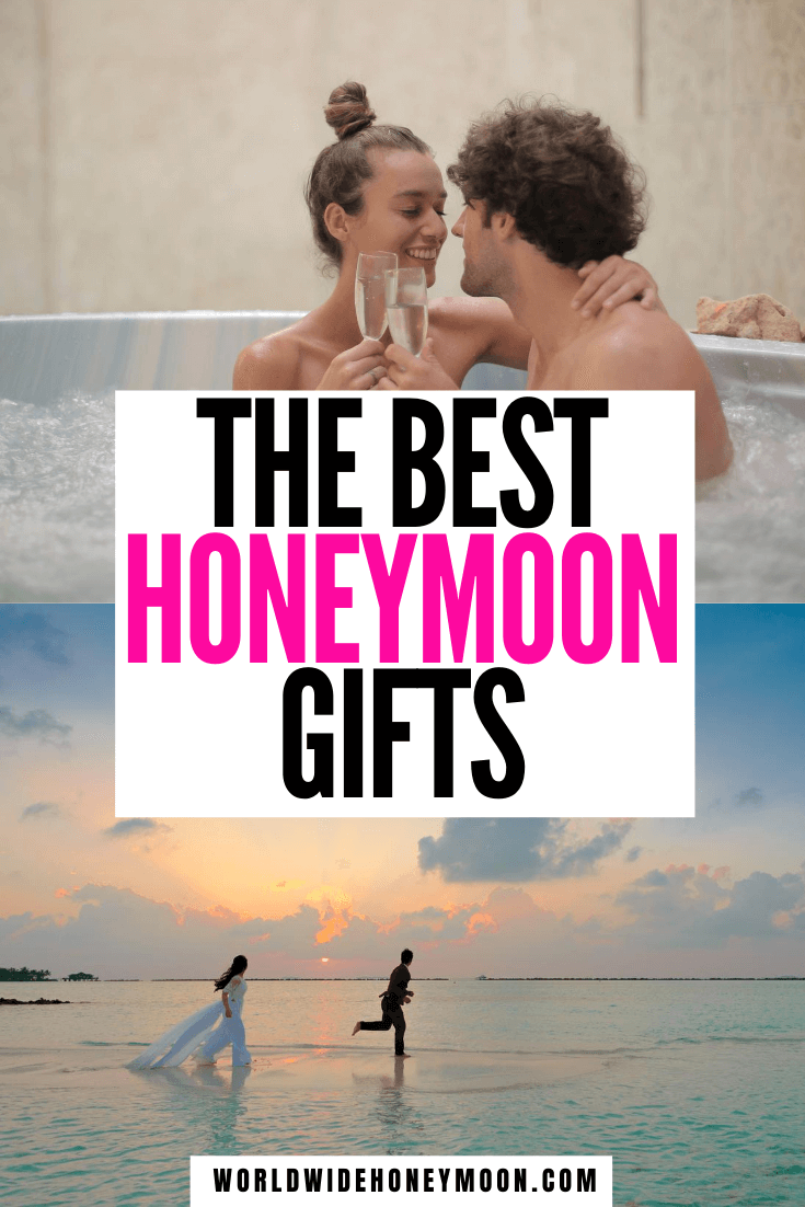 From honeymoon fund ideas to gifts for the honeymoon, these are the perfect wedding registry gifts | Wedding Gift Ideas | Honeymoon Gift Ideas For Couple | Wedding Gift Ideas for Bride and Groom | Wedding Gifts | Wedding Registry Ideas Unique | Wedding Registry Must Haves | Honeyfund #weddingregistry #honeymoonfund #honeyfund #honeymoongiftideas
