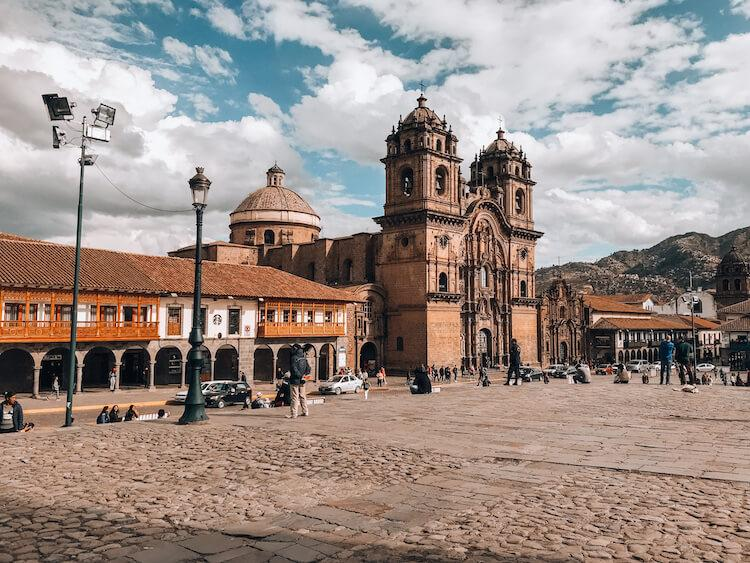 Church of the Society of Jesus - Cusco Attractions