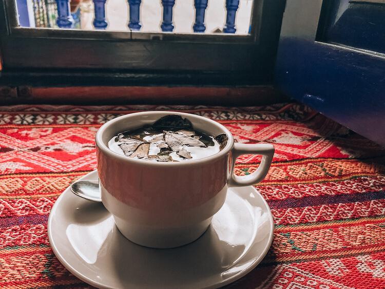 Coca Tea in Cusco - Cusco Souvenirs
