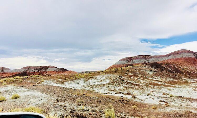Painted Desert in Arizona