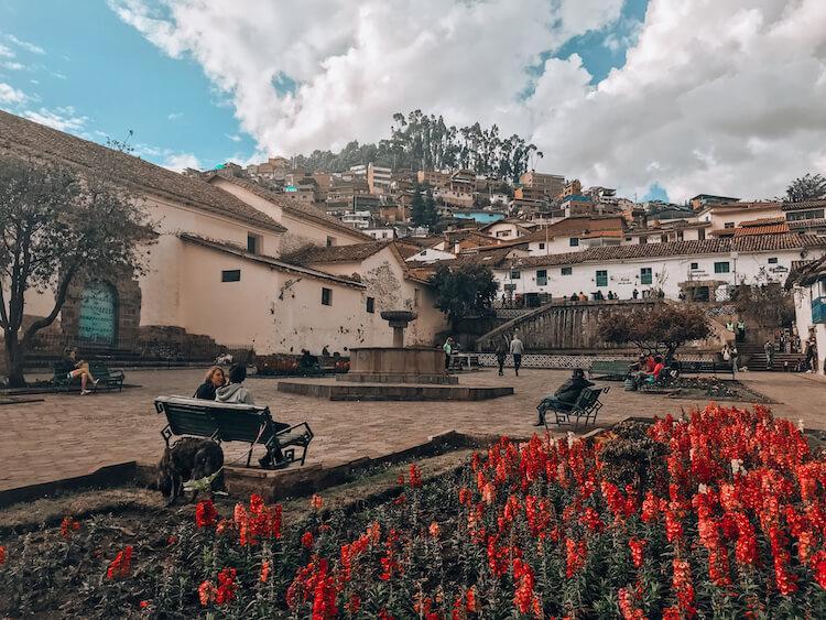 Plazoleta de San Blas in Cusco