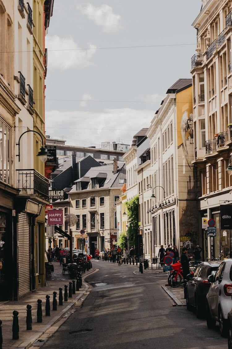 Streets of Brussels in one day