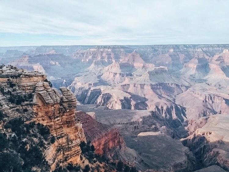 View of Grand Canyon National Park - South Rim