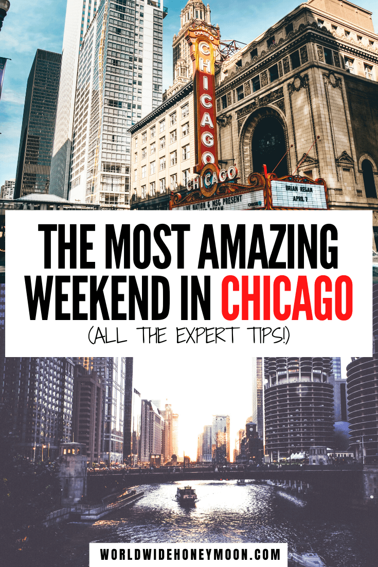 This is how to spend the perfect weekend in Chicago | 3 Days in Chicago | Chicago 3 Days | Chicago Itinerary 3 Days | Chicago Things to do | Things to do in Chicago | Chicago Photography | Where to Eat in Chicago | Chicago Travel Guide | Chicago Itinerary | Chicago Neighborhoods | Chicago Activities | Chicago Attractions | Chicago Weekend Trip | Chicago Weekend Itinerary #chicago #chicagoil #usatravel #travelitinerary