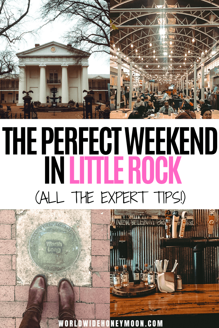This is the perfect weekend itinerary for Little Rock Arkansas | Things to do in Little Rock | Little Rock Arkansas Restaurants | Little Rock Arkansas Photography | 2 Days in Little Rock | Arkansas Travel | Little Rock Travel | Weekend in Little Rock #littlerock #littlerockarkansas #arkansas #littlerockcity #usatravel