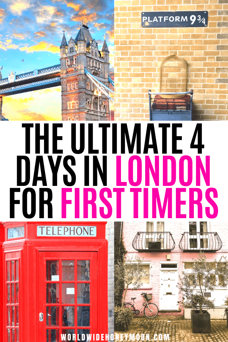 This is the ultimate 4 days in London itinerary | London Travel | London Itinerary | London Travel Photos | London Travel Places | Things to do in London England | 4 Days in London Packing | London Itinerary First Time | London Travel Guide | London Travel Tips | Europe Destinations | Travel Ideas | UK Destinations