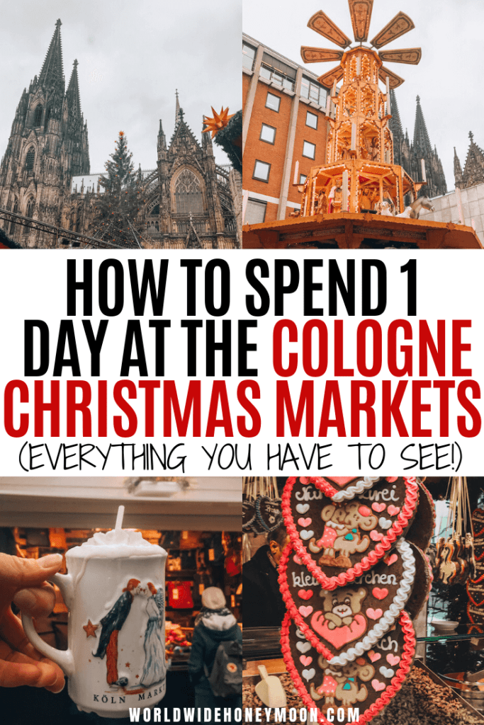 This is the ultimate guide to a Cologne Christmas Market Crawl in 1 Day | Cologne Cathedral | Koln Christmas Market | Cologne Germany | Cologne Germany Photography | Cologne Christmas Market Germany | Cologne Christmas Market Food | Cologne Germany Christmas | German Christmas Market #colognegermany #colognechristmasmarket #germanchristmasmarkets #christmasmarkets #cologne