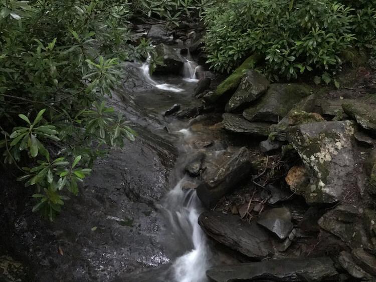 Creek in the Smokies - Weekend in Gatlinburg
