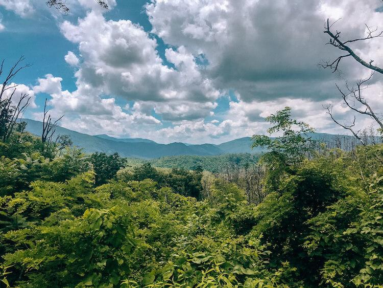 Hiking to Baskin Creek Falls - Rolling Mountains and Greenery - Gatlinburg Itinerary