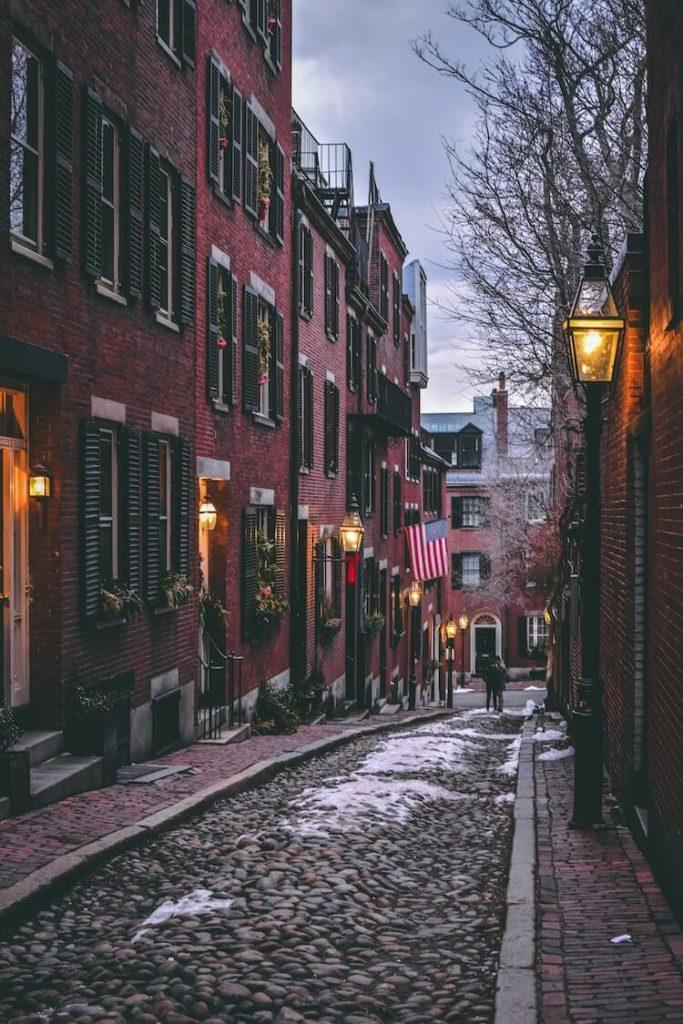 Old Part of Boston
