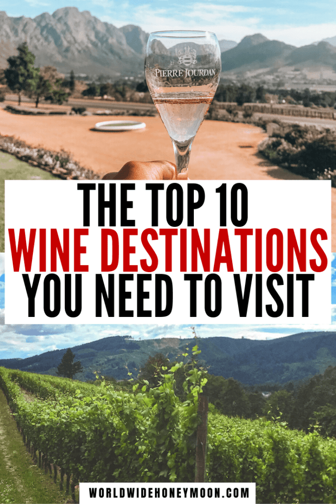 These are hands-down the best wine destinations | Wine Travel | Wine Tasting Destinations | Wine Tourism Destinations | Wine Travel Destinations | Wine Destinations USA | Vineyards in California | Vineyards in France | Best Vineyards in California | Best Vineyards in Tuscany | Best Vineyards in the World #bestwinedestinations #winetravel #winetastingdestinations #bestvineyards