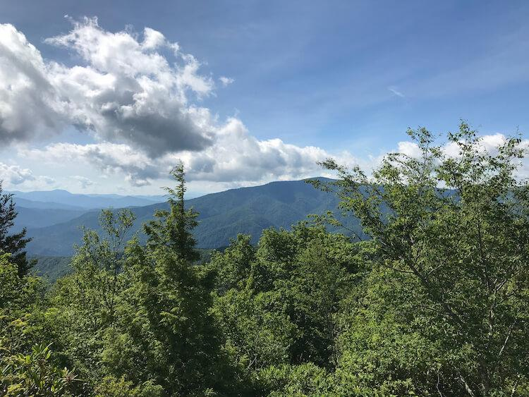 Top of Mount Cammerer - 3 Days in the Smoky Mountains