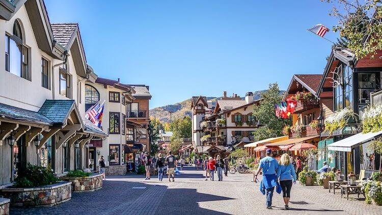 Vail Colorado - European Cities in America