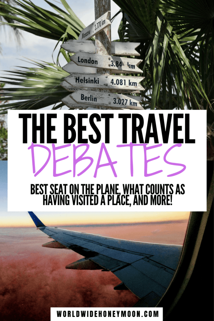 These are the best travel questions | Travel Questions Fun | Travel Questions for Couples | Best Seat on a Plane | Best Seat on Airplanes | Window or Aisle Seat | Tourism | Travel Questions List | Travel Questions Instagram | Travel Ideas For Couples #travelquestions #couplestravel #windoworaisleseat #travelquestionsforcouples