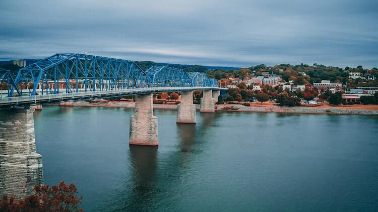 Chattanooga Bridge in Tennessee